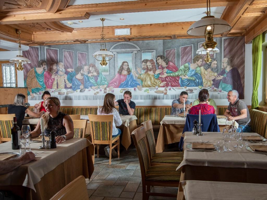 Ristorante Il Cenacolo Livigno Chef Luca Galli foto roby trab